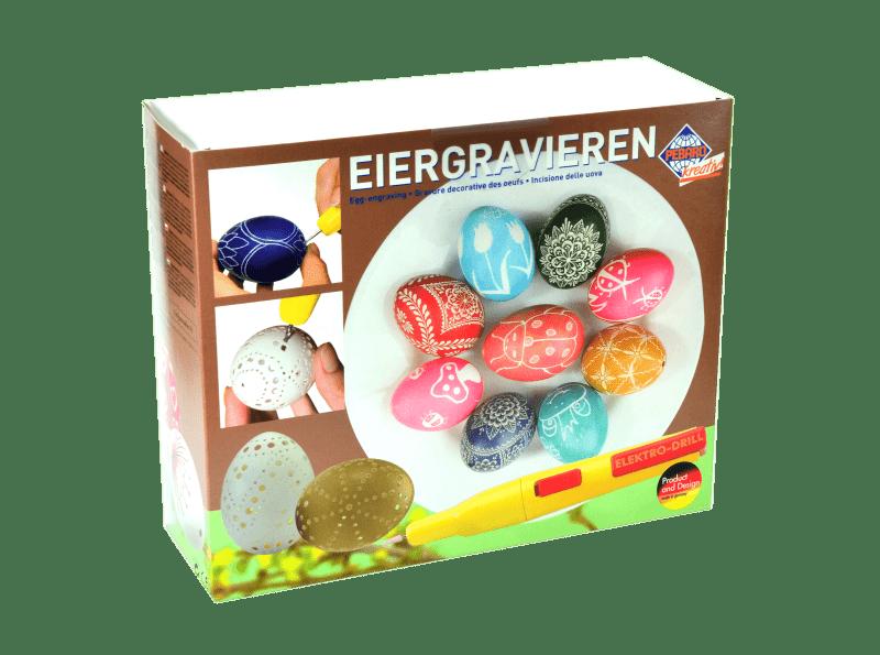 Фото -  Набор для гравировки и декорирования яиц Pebaro